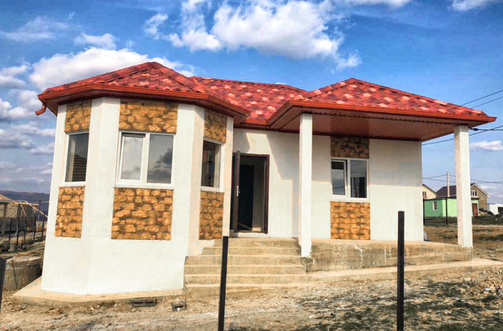 Готовый дом по проекту НД-056