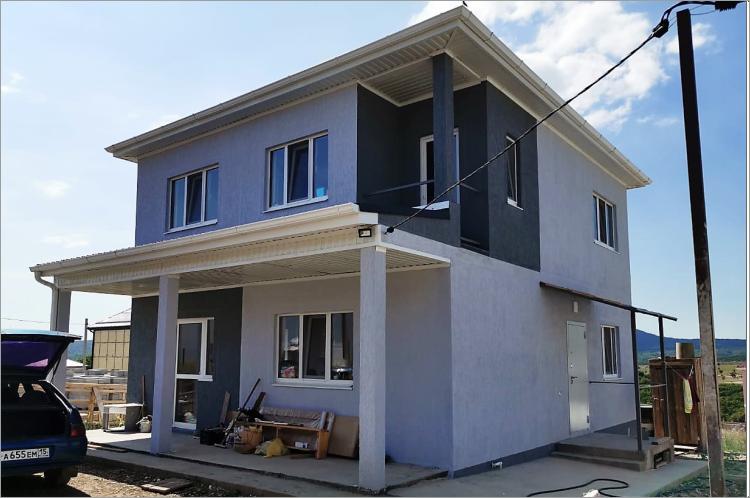 Готовый дом по проекту НД-108-4