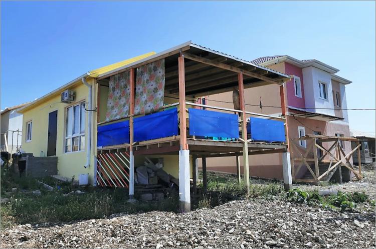 Готовый одноэтажный дом по проекту НД-041-1