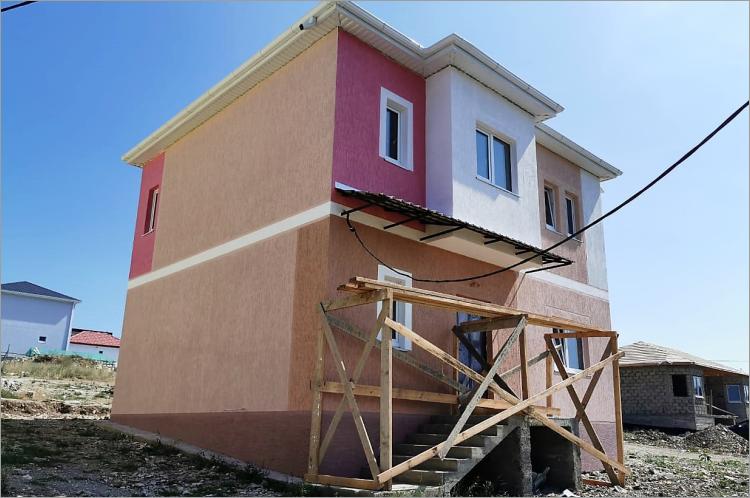 Готовый двухэтажный дом по проекту НД-116