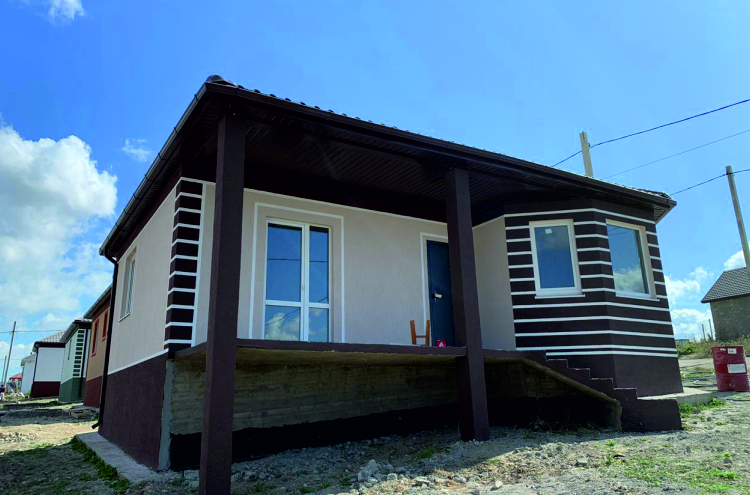 Готовый дом по проекту НД-056/2