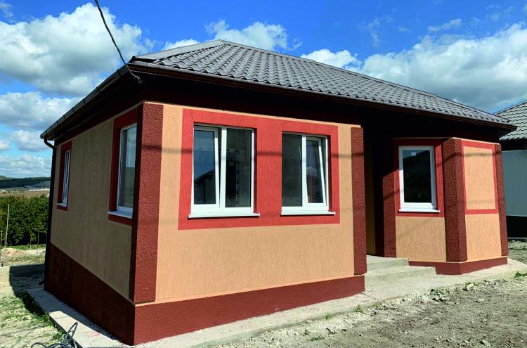 Готовый дом по проекту НД-056/4