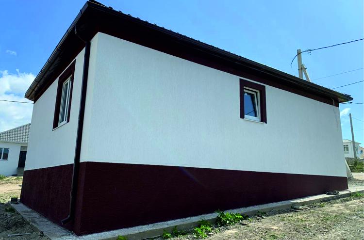 Готовый дом по проекту НД-056/5