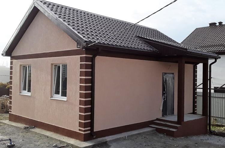 Готовый одноэтажный дом по проекту НД-041-2