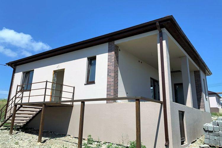 Продаем дом с террасой по проекту